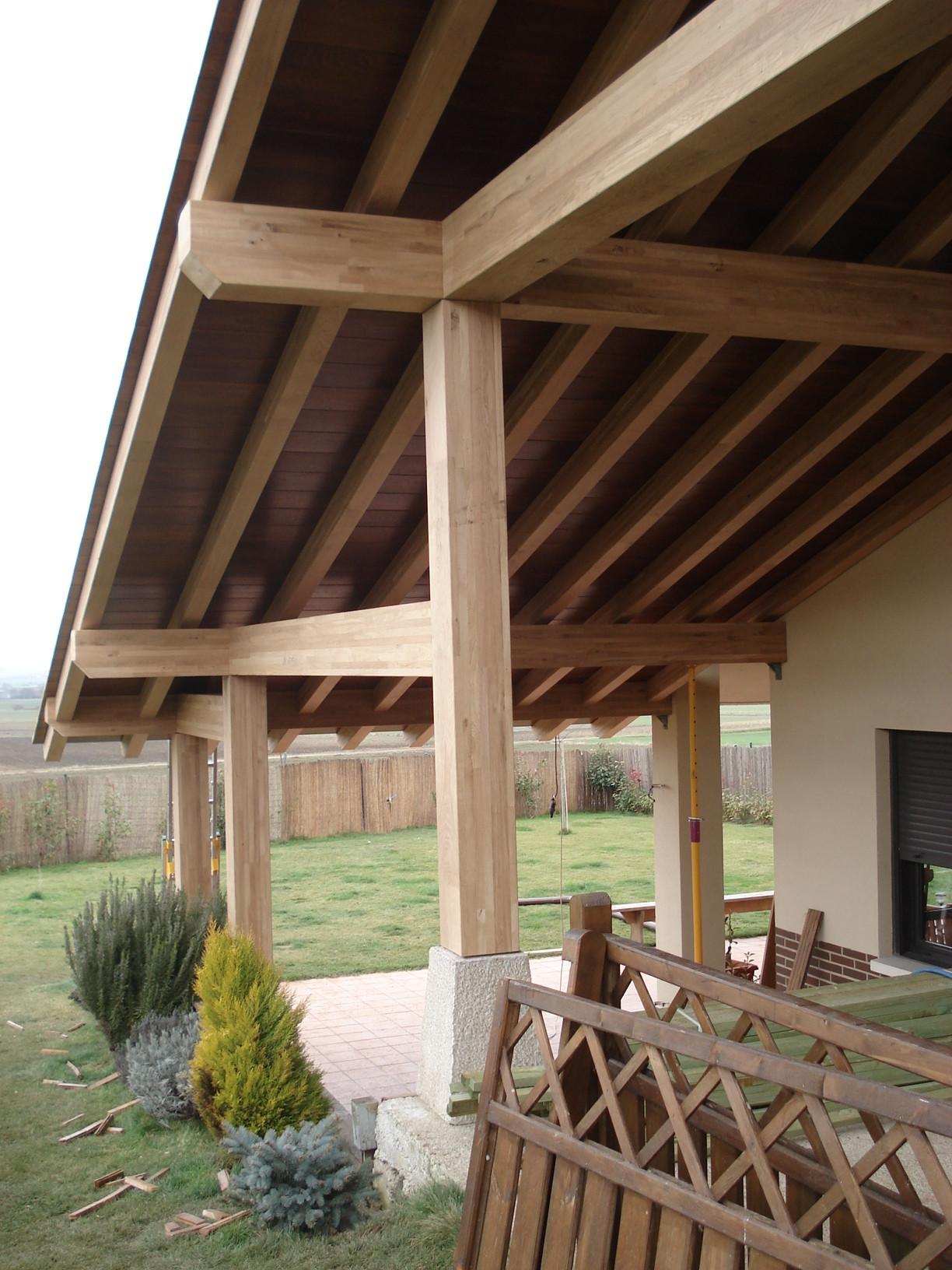 tejados de madera cubiertas estructuras
