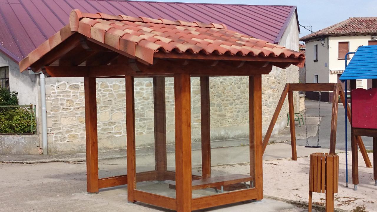 Tejados de madera amazing precio m panel de madera para for Tejados de madera modernos